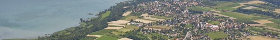Luftaufnahme Täuffelen, www.luftbilder-der-schweiz.ch
